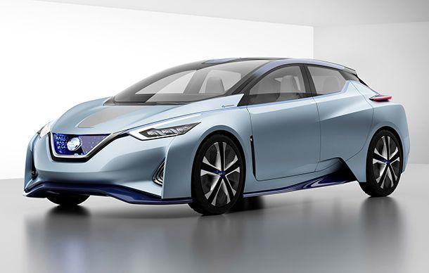Nissan เผย Leaf เจนเนอเรชั่นต่อไปวิ่งได้ไกลระดับ 400 กม.