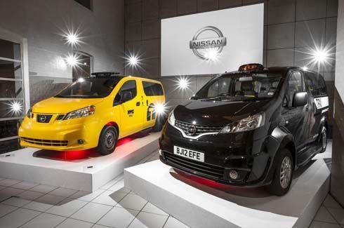 Nissan ส่ง NV200 ทำแท็กซี่ในกรุงลอนดอน ประหยัดกว่า TX4 กว่าครึ่ง