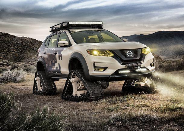 ลุยไปได้ทุกที่ Nissan เผยโฉมรถต้นแบบคันเดียวในโลก Rogue New Trail Warrior