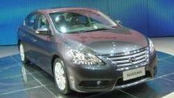 ใหม่ Nissan Sylphy คอมแพคท์ซีดานรุ่นปี 2013 พื้นฐาน Sentra เวอร์ชั่นมะกันตัวใหม่
