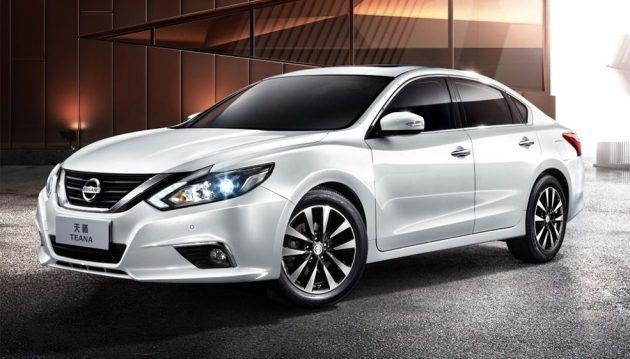 Nissan Teana รุ่นปรับโฉมตลาดจีน เสริมอ็อปชั่นเพิ่มความสะดวก
