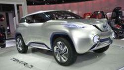 Nissan TeRRa เอสยูวีพลัง Hydrogen Fuel Cells อวดโฉมที่ปารีสมอเตอร์โชว์