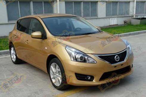 โผล่ก่อนงาน! All-New Nissan Tiida Hatchback รุ่นปี 2012 โฉมใหม่ตัวใหญ่กว่าเดิม