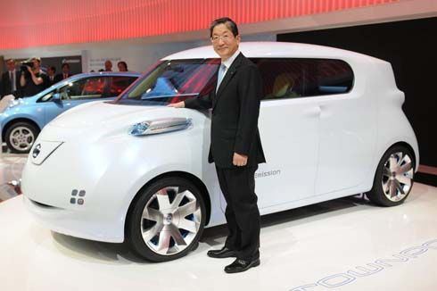 Nissan Townpod EV Concept รถแนวคิดพลังงานไฟฟ้า ดีไซน์ล้ำแบบสดใส หัวใจเดียวกับ LEAF