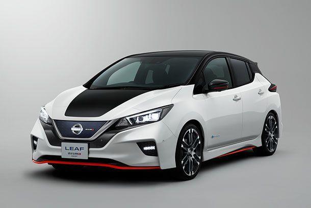 Nissan เผยโฉม Leaf Nismo Concept รถพลังงานไฟฟ้าก็ปราดเปรียวได้
