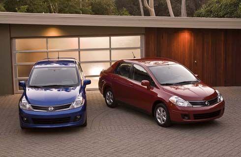 Nissan Versa ไมเนอร์เชนจ์ ปี 2011 Tiida เวอร์ชั่น US เปิดราคาทั้ง Hatchback และ Sedan