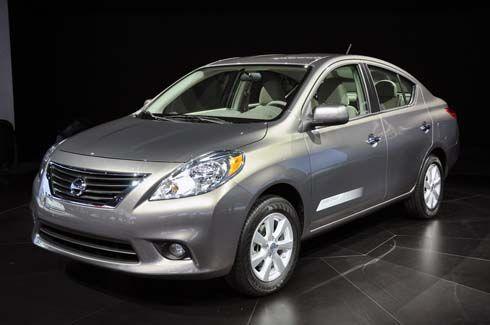 Nissan Versa Sedan รุ่นปี 2012 สะท้อนรูปลักษณ์ใหม่ Tiida Latio/Almera ของไทย
