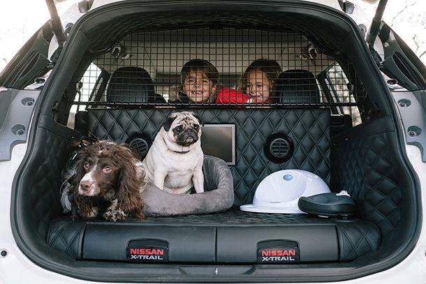 Nissan X-Trail Concept 4Dogs รถต้นแบบเอาใจคนรักน้องหมา
