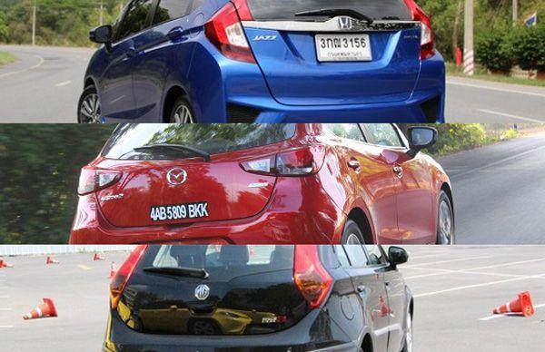 ประชันคุณภาพรถเอสยูวี Nissan X-Trail / Honda CR-V / Mazda CX-5