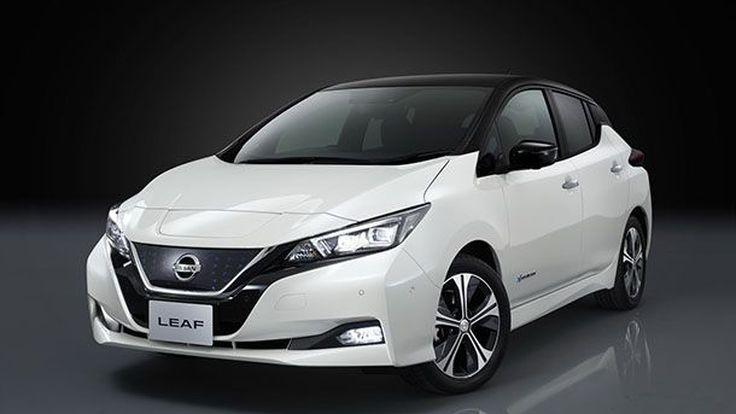เปิดตัวแล้ว 2018 Nissan Leaf ขับเคลื่อนพลังไฟฟ้าได้ไกล 240 กม.