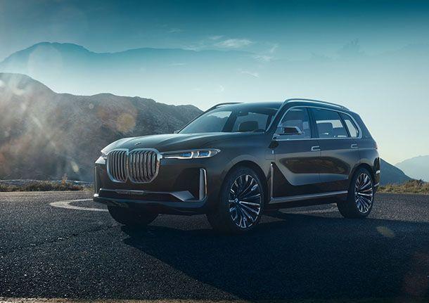 เผยโฉมอย่างเป็นทางการ BMW Concept X7 iPerformance
