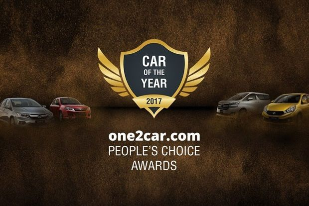 One2car.com People Choice Awards - Car Of The Year 2017