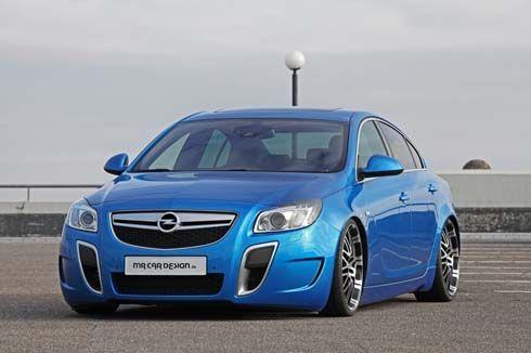 Opel Insignia OPC โหลดเตี้ย เพิ่มสมรรถนะเป็น 370 แรงม้า โดย MR Car Design