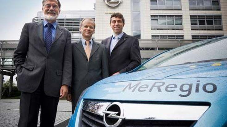 Opel Meriva EV ต้นแบบรถอเนกประสงค์พลังงานไฟฟ้า ทดสอบระบบชาร์จไฟอัจฉริยะ 2 ทิศทาง