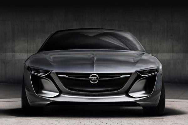 ทีเซอร์อีกแล้ว Opel Monza Concept รถสปอร์ตต้นแบบสุดเท่