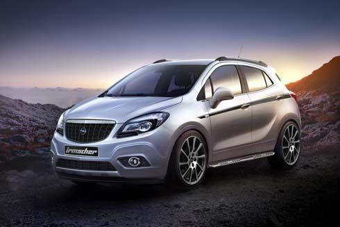Opel (Vauxhall) Mokka โมดิฟายด์เติมความดุดันโดยสำนัก Irmscher