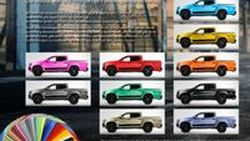 ชอบสีไหนก็เลือกเลย 100 สีให้เลือกจาก X² Package สำหรับรถกระบะ Mercedes-Benz X-Class