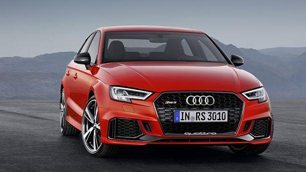 [Paris 2016] Audi RS3 ซีดานตัวโหด พลังกระฉูด 400 แรงม้า
