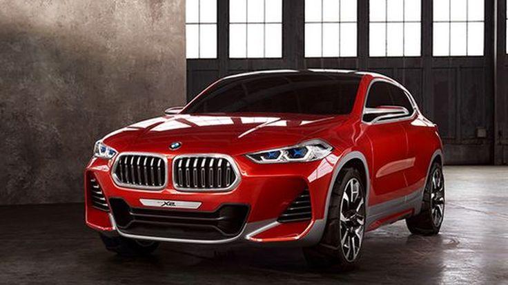 [Paris 2016] BMW X2 เวอร์ชั่นต้นแบบ หน้าตาโหดดุดัน