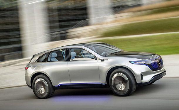 [Paris 2016] Mercedes-benz Generation EQ รถพลังไฟฟ้าต้นแบบ แล่นได้ไกล 500 กม.