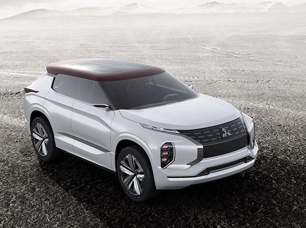 [Paris 2016] Mitsubishi GT-PHEV Concept รถต้นแบบดีไซน์เฉียบคม