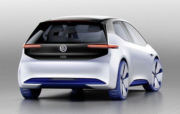 [Paris 2016] Volkswagen I.D. รถแฮทช์แบ็กพลังไฟฟ้าตัวต้นแบบ
