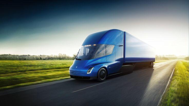 อย่างเฟี้ยว Pepsi สั่งซื้อรถบรรทุกไฟฟ้าอย่าง Tesla Semi เข้าฟรีดส่งของ จำนวน 100 คัน