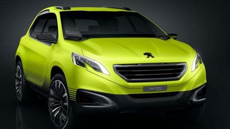 เปิดภาพ Peugeot 2008 concept รถต้นแบบ คู่แข่งในอนาคตของ Nissan Juke