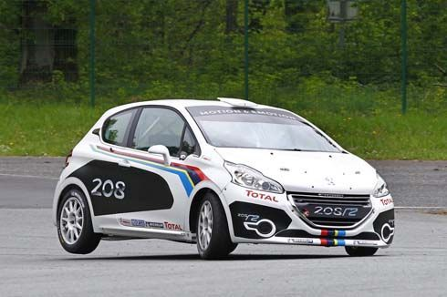 Peugeot แนะนำ 208 R2 รถแข่งแรลลี่ ก่อนลงสนามครั้งแรกที่ Tour de Corse