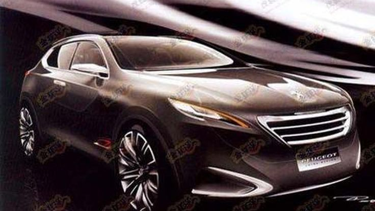 Peugeot Crossover Concept ของใหม่สำหรับตลาดใหญ่ที่ 2011 Shanghai Auto Show