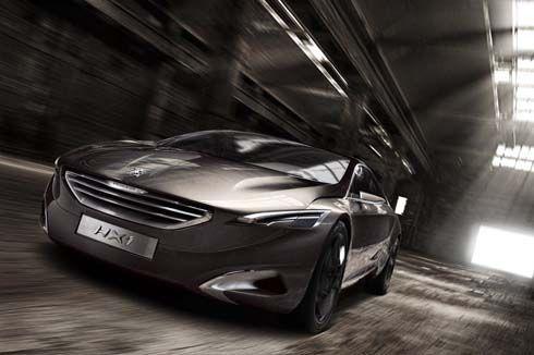 Peugeot HX1 Plug-In Hybrid Concept ปฏิวัติรูปโฉมรถอเนกประสงค์แบบเดิมๆ