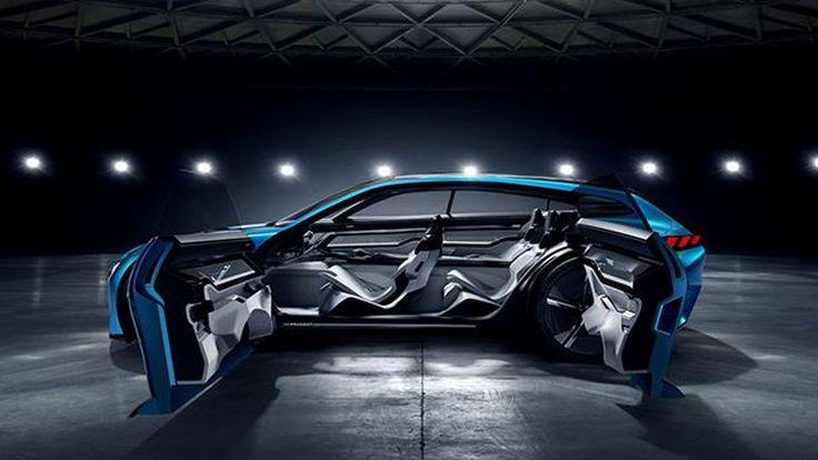เปิดภาพเต็ม Peugeot Instinct Concept สวยงามและชาญฉลาด