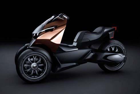 Peugeot Onyx Scooter Concept รุ่นต้นแบบ จ่อโชว์ตัวที่ Paris Motor Show