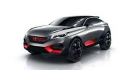 """Peugeot Quartz """"รถเอสยูวีแห่งอนาคต"""" ขุมพลังไฮบริด 500 แรงม้า"""