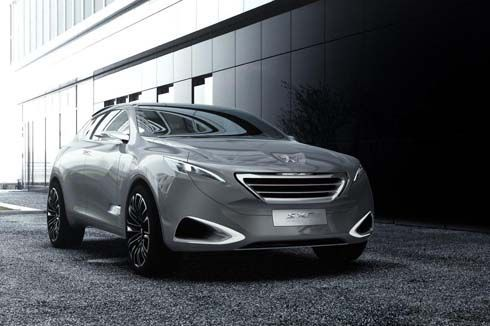 Peugeot SXC Crossover Concept ทรง SUV ผสม Sedan เอาใจคนจีนโดยเฉพาะ