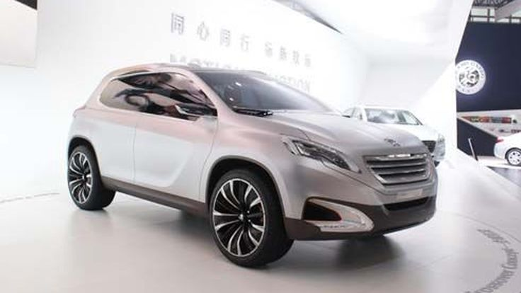 Peugeot เปิดตัว Urban Crossover Concept คู่แข่ง Nissan Juke และ Ford EcoSport