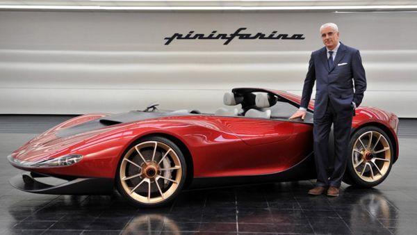 Pininfarina Sergio Tribute Speedster Concept รถต้นแบบอุทิศให้ตำนานของบริษัท