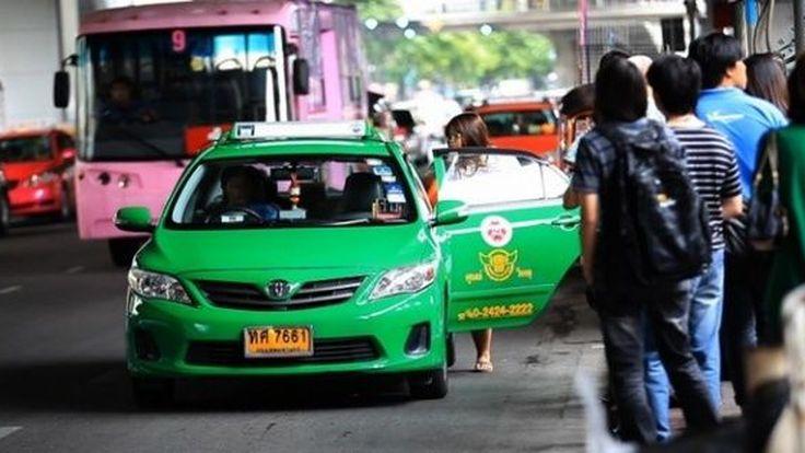 แท็กซี่จอดแช่หน้าสนามบินดอนเมืองมีหนาว ตำรวจกวดขันปรับสูงสุด 1,000 บาท