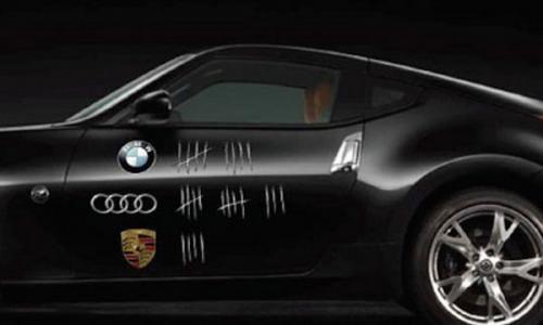 Porsche ขู่ฟ้อง Nissan ใช้โลโก้โดยไม่ได้รับอนุญาต ปรามาสผ่านตัวรถในงาน Goodwood Festival