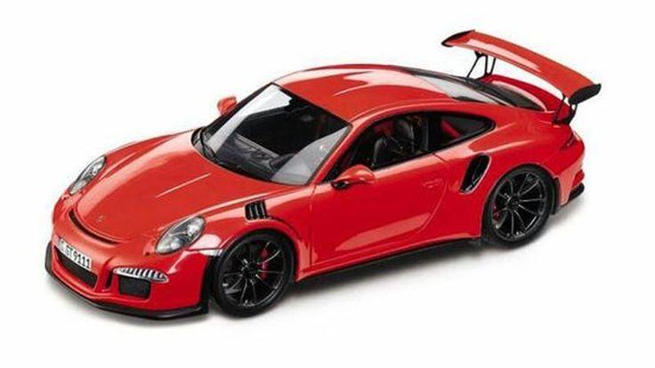 หลุดภาพรถโมเดลว่าที่ Porsche 911 GT3 RS!?