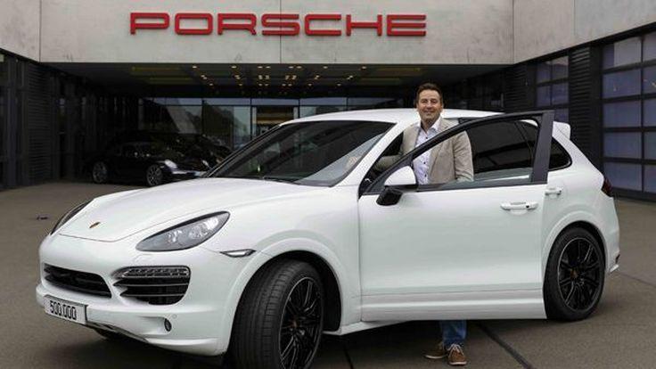 Porsche ฉลองความสำเร็จ Cayenne ผลิตครบ 500,000 คัน