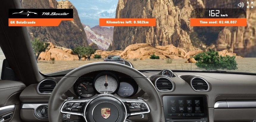 ลองเล่นหรือยัง? เกมรถแข่ง Porsche 718 Boxster และ 718 Cayman