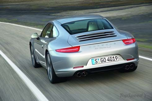 Porsche 911 รุ่นปี 2012 โฉมใหม่รหัสตัวถัง 991 อวดโฉมผ่านภาพหลุดชุดแรกแล้ว