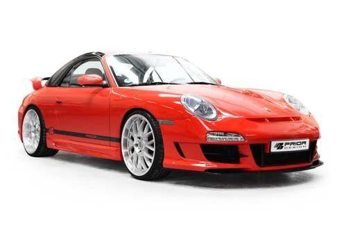 เนี้ยบทุกจุด! Porsche 911 สีแดงสดในชุดแต่ง PD3 Aerodynamic จาก Prior Design