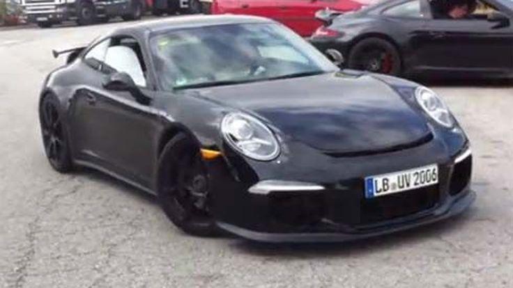 ชมกันชัดๆ Porsche 911 GT3 ปี 2013 ถูกจับภาพวีดีโอขณะวิ่งทดสอบ