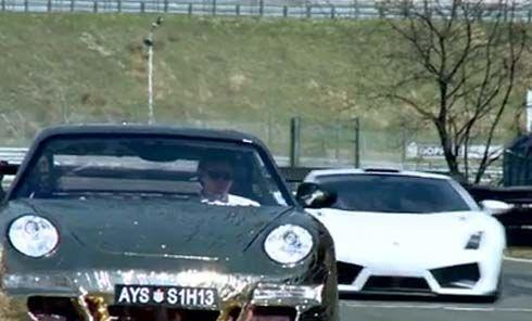 Porsche 911 GT3 RS ปรับแต่งทั้งคันไม่กินน้ำมันโดย Ferdinand เบียด Lambo ที่สนาม Salzburgring