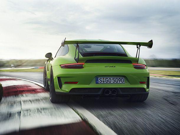 Porsche เผยโฉม 911 GT3 RS รุ่นไมเนอร์เชนจ์ ขุมพลัง 520 แรงม้า