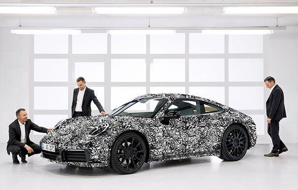"""Porsche เผยภาพแรก 911 เจนเนอเรชั่นใหม่ """"ไม่ใช่แค่รถสปอร์ต"""""""