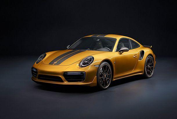 Porsche 911 Turbo S Exclusive Series เสริมเอกลักษณ์ เติมความแรง