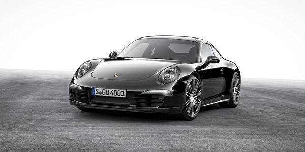 """ชอบของดำต้องนี่เลย Porsche Boxster และ 911 Carrera """"Black Edition"""""""